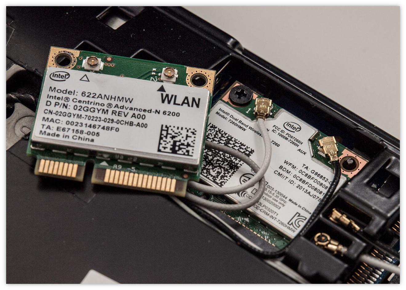 Модуль Wi-Fi в ноутбуке