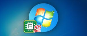 Решение проблемы с перегруженным процессором в Windows 7