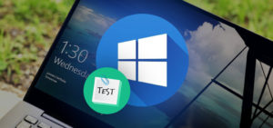 Отключение тестового редима в Windows 10