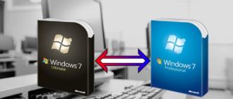 Чем отличается Windows 7 Ultimate от Professional