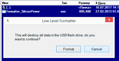 Formatter Silicon Power