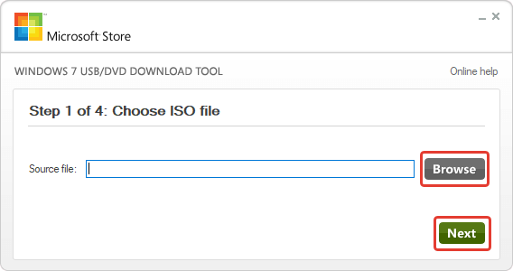 USB/DVD Download Tool