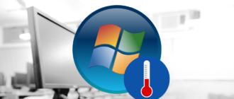Как проверить температуру процессора и видеокарты в Windows 7