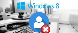Сброс пароля учетной записи в Windows 8